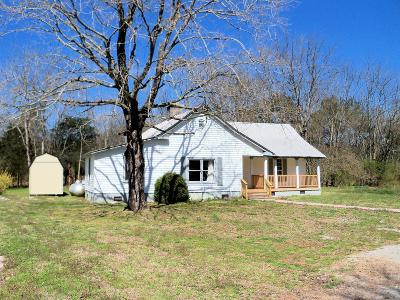 Spring Hill  Single Family Home Under Contract - Not Showing: 5155 Ollie Chunn Rd