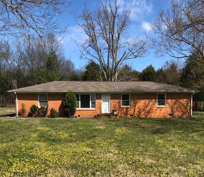 Wilson County Single Family Home Under Contract - Not Showing: 555 Lindsley Rd