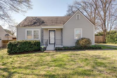 Nashville Single Family Home Under Contract - Not Showing: 303 Peachtree St