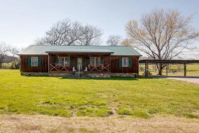 Culleoka Single Family Home Under Contract - Showing: 1341 Bear Creek Rd