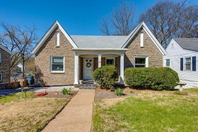 Nashville Single Family Home For Sale: 206 Morton Ave