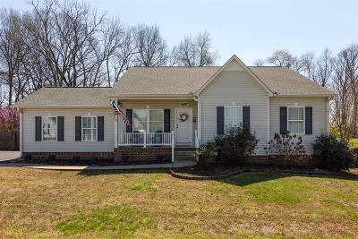 Spring Hill  Single Family Home Under Contract - Showing: 3657 Rutherford Dr