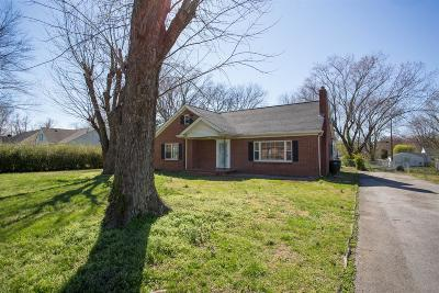 Springfield Single Family Home Under Contract - Not Showing: 105 Brentlawn Drive
