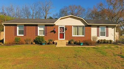 Mount Juliet Single Family Home Under Contract - Not Showing: 146 Saundersville Ferry Rd