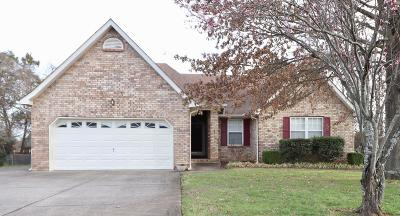 Smyrna, Lascassas Single Family Home Under Contract - Not Showing: 506 Saint Francis Ave