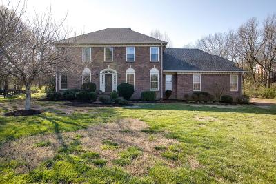 Brentwood  Single Family Home Under Contract - Not Showing: 809 Hunterboro Ct