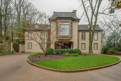 Nashville Single Family Home For Sale: 3 Buckland Abbey