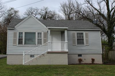 Columbia  Single Family Home Under Contract - Showing: 512 W 15th St
