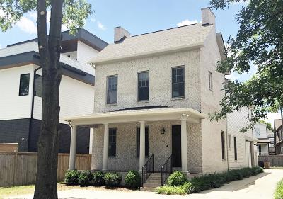 Nashville Single Family Home For Sale: 1903 Warfield Drive