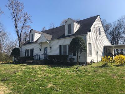 Springfield Single Family Home Under Contract - Showing: 111 Kinneys School Road