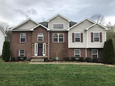 Clarksville Single Family Home Under Contract - Not Showing: 3431 N Henderson Way
