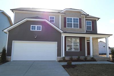 Smyrna Single Family Home For Sale: 815 Green Meadow Lane Lot 66