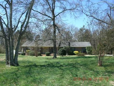 Lebanon Single Family Home Under Contract - Not Showing: 1078 N Dickerson Chapel Rd