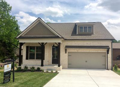 Mount Juliet Single Family Home For Sale: 36 Eagles Court