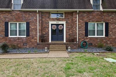 Brentwood Single Family Home For Sale: 1919 Harpeth River Dr