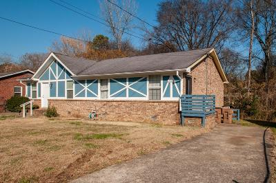 Nashville Single Family Home Under Contract - Showing: 2347 Cooper Ter