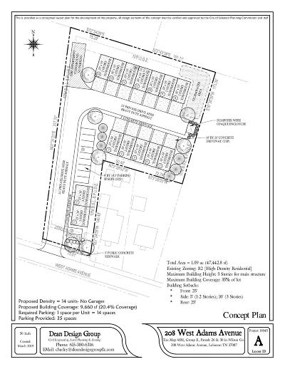 Lebanon Residential Lots & Land For Sale: 208 W Adams Ave