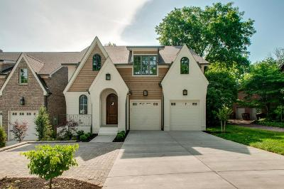 Green Hills Single Family Home Under Contract - Showing: 3412 Benham Ave