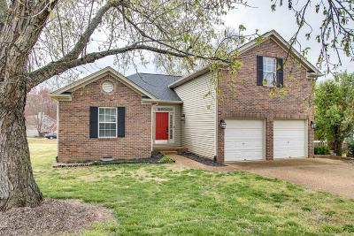 Old Hickory Single Family Home For Sale: 501 Granwood Blvd