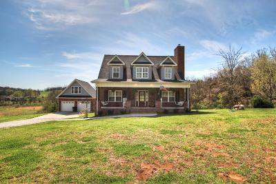 Eagleville TN Single Family Home Under Contract - Not Showing: $524,900