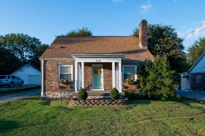 Madison Single Family Home Under Contract - Not Showing: 239 Neelys Bend
