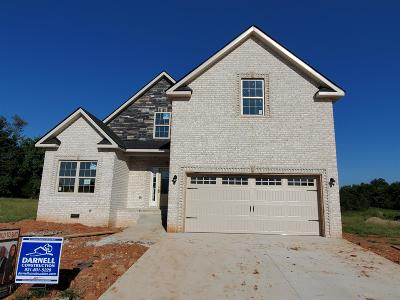Clarksville Single Family Home Under Contract - Showing: 83 Griffey Estates