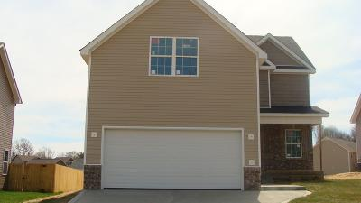 Clarksville TN Single Family Home For Sale: $232,620