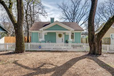 Nashville Single Family Home Under Contract - Showing: 113 Elberta St