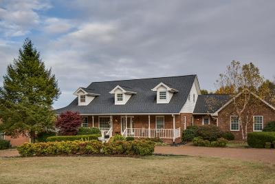 Mount Juliet Single Family Home For Sale: 6275 John Hager Rd