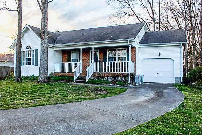 Smyrna Single Family Home Under Contract - Not Showing: 603 Cayla Ct