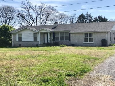 Smyrna Single Family Home Under Contract - Showing: 875 Baker Rd