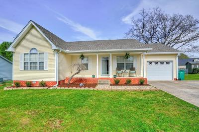Smyrna Single Family Home Under Contract - Not Showing: 584 Mason Tucker Dr