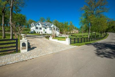 Franklin Single Family Home For Sale: 3500 Mauldin Woods Trl