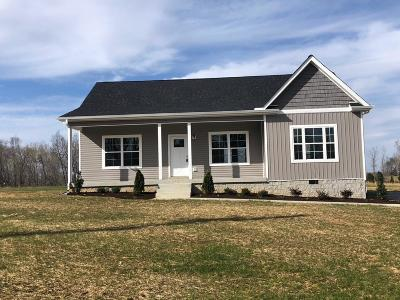 Charlotte Single Family Home Under Contract - Showing: 875 Hooper Road Lot 22