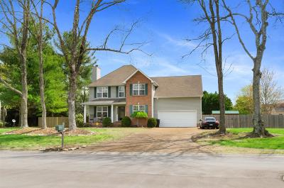Franklin TN Single Family Home Under Contract - Not Showing: $419,999