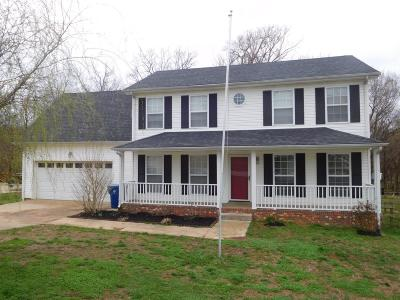 Clarksville Single Family Home Under Contract - Showing: 803 Sugarcane Way