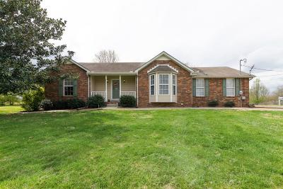 Ashland City Single Family Home Under Contract - Showing: 1763 Mount Zion Rd