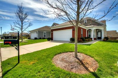 Single Family Home Under Contract - Not Showing: 215 Old Towne Dr