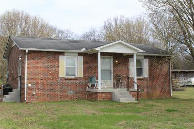 Bradyville Single Family Home Under Contract - Not Showing: 731 Dickens Hill Rd