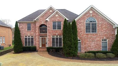 Brentwood Single Family Home Under Contract - Showing: 821 Turnbridge Drive