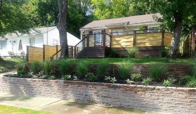 Nashville Single Family Home For Sale: 1101 Davidson St