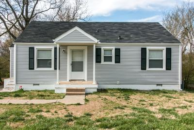 Clarksville Single Family Home Under Contract - Not Showing: 27 Maple St