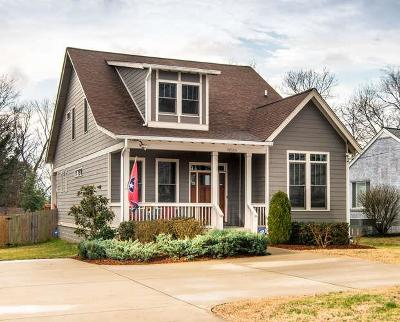 East Nashville Single Family Home Under Contract - Showing: 1952 A Porter Rd