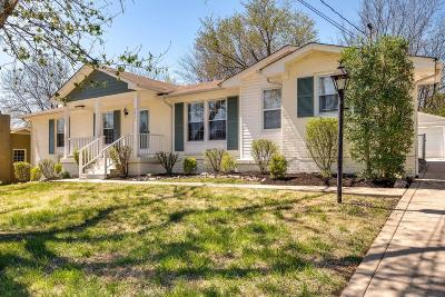 Nashville Single Family Home For Sale: 2821 Galesburg Dr