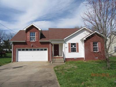Christian County, Ky, Todd County, Ky, Montgomery County Single Family Home Under Contract - Not Showing: 3505 Sandpiper Dr