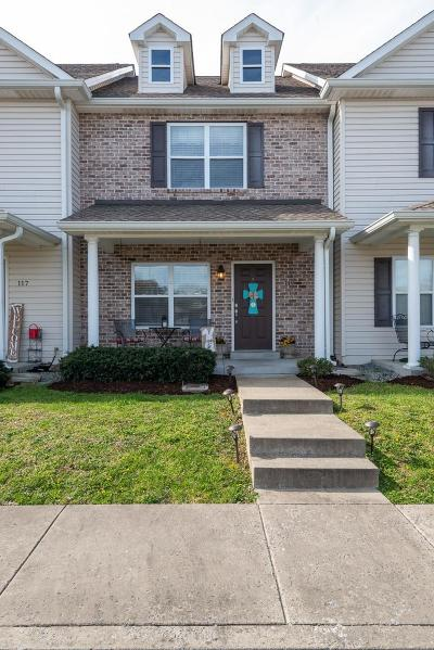 Kingston Springs Condo/Townhouse Under Contract - Showing: 119 Avalon Dr