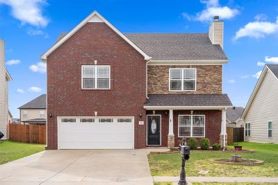 Clarksville Single Family Home Under Contract - Showing: 3366 Cotham Ln