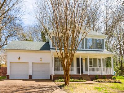 Thompsons Station Single Family Home Under Contract - Not Showing: 2708 Banks Ct