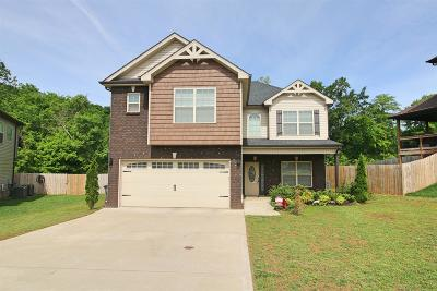 Clarksville Single Family Home Under Contract - Not Showing: 133 Blue Hole Rd