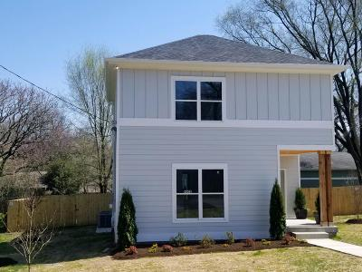 Nashville Single Family Home For Sale: 4002 Burrus St